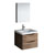 "24"" Rosewood Full Vanity Set Product View"