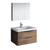 "32"" Rosewood Full Vanity Set Product View"