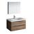 "36"" Rosewood Full Vanity Set Product View"