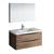"40"" Rosewood Full Vanity Set Product View"