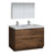 Rosewood Double Full Vanity Set Product View