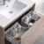 """36"""" Rustic Natural Wood Full Vanity Set Top Drawer"""