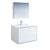 "36"" Glossy White Full Vanity Set Product View"