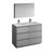 Gray Double Vanity Set Product View