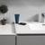 Gray Full Vanity Set Cabinet Top