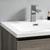 "24"" Gray Wood Full Vanity Set Top Drawer"
