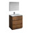 "30"" Rosewood Full Vanity Sets Product View"