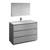 Gray Single Vanity Set Product View