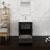"""24"""" Dark Gray Oak Full Vanity Set Drawer/Cabinet Open"""