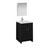 """24"""" Dark Gray Oak Full Vanity Set Product View"""