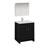 """30"""" Dark Gray Oak Full Vanity Set Product View"""