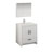 "30"" Glossy White Full Vanity Set Product View"