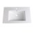 """Fresca Allier 30"""" White Integrated Sink / Countertop, 30"""" W x 18-1/4"""" D x 5/8"""" H"""