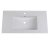 """Fresca Allier 36"""" White Integrated Sink / Countertop, 36"""" W x 18-1/4"""" D x 5-1/4"""" H"""