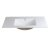 """Fresca Allier 40"""" White Integrated Sink / Countertop, 39-3/8"""" W x 18-1/4"""" D x 5-1/4"""" H"""