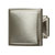 Hafele Hickory Bridges Collection Square Knob, Satin Nickel, 32mm W x 28mm D x 32mm H