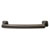 Hafele Hickory Bridges Collection Handle, Oil-Rubbed Bronze, 148mm W x 28mm D x 19mm H, 128mm Center to Center