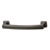 Hafele Hickory Bridges Collection Handle, Oil-Rubbed Bronze, 113mm W x 28mm D x 17mm H, 96mm Center to Center