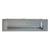 Hafele Inset Pull, Matt Chrome, 174mm W x 15mm D x 46.5mm H, 160mm Center to Center
