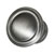 Hafele Keystone Fluted Style Collection Round Knob, Satin Pewter, 30mm Diameter