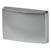 "Cornerstone Series Elite Handle (1-1/2"" W) Modern Knob in Matt Aluminum"