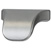 "Cornerstone Series Elite Handle (1-3/8"" W) Modern Finger Pull Handle in Matt Aluminum"