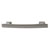 Hafele Amerock Conrad Collection Handle, Satin Nickel, 132mm W x 11mm D x 25mm H, 96mm Center to Center