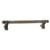 Hafele Amerock Davenport Collection Handle, Gunmetal, 198mm W x 27mm D x 37mm H, 160mm Center to Center