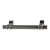 Hafele Amerock Davenport Collection Handle, Gunmetal, 135mm W x 27mm D x 37mm H, 96mm Center to Center