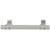 Hafele Amerock Davenport Collection Handle, Satin Nickel, 135mm W x 27mm D x 37mm H, 96mm Center to Center