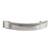 Hafele Amerock Extensity Collection Handle, Satin Nickel, 105mm W x 17mm D x 33mm H, 76mm Center to Center