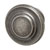 Hafele Amerock Inspirations Collection Round Knob, Weathered Nickel, 33mm Diameter