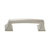 Hafele Amerock Mulholland Collection Handle, Satin Nickel, 95mm W x 17mm D x 27mm H, 76mm Center to Center