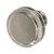 Hafele Amerock Oberon Collection Round Knob, Polished Nickel, 35mm Diameter