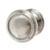 Hafele Amerock Revitalize Collection Round Knob, Satin Nickel, 32mm Diameter