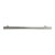Hafele Amerock Collection Bar Pull, Polished Nickel, 371mm W x 19mm D x 51mm H, 305mm Center to Center