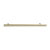 Hafele Amerock Collection Bar Pull, Golden Champagne, 337mm W x 13mm D x 35mm H, 256mm Center to Center