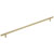 Hafele Amerock Collection Bar Pull, Golden Champagne, 560mm W x 13mm D x 35mm H, 480mm Center to Center