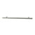 Hafele Amerock Collection Bar Pull, Polished Nickel, 337mm W x 13mm D x 35mm H, 256mm Center to Center