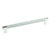 Hafele Amerock Esquire Collection Handle, Polished Nickel/ Matt Stainless Steel, 279mm W x 16mm D x 38mm H, 256mm Center to Center