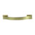 Hafele Amerock Candler Collection Handle, Golden Champagne, 111mm W x 19mm D x 29mm H, 76mm Center to Center