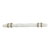 Hafele Amerock Carrione Collection Handle, White Marble/ Golden Champagne, 191mm W x 21mm D x 40mm H, 128mm Center to Center