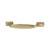 Hafele Amerock Highland Ridge Collection Handle, Gold Champagne, 110mm W x 11mm D x 27mm H, 76mm Center to Center