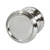 Hafele Amerock Revitalize Collection Round Knob, Polished Nickel, 32mm Diameter