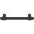 Hafele 125mm (4-15/16'' W) Matte Black
