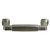 Hafele 116mm (4-9/16'' W) Satin Nickel