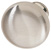 Hafele (1-1/4'') Diameter Mushroom Round Knob in Satin Chrome, 31mm Diameter x 28mm D x 15mm Base Diameter