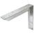 Hafele Counter Support Bracket, Aluminum, Unfinished