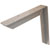 Hafele Counter Support Bracket, Aluminum, Powder Chrome