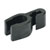 Hafele Clamp, for Star Stop, Black Plastic